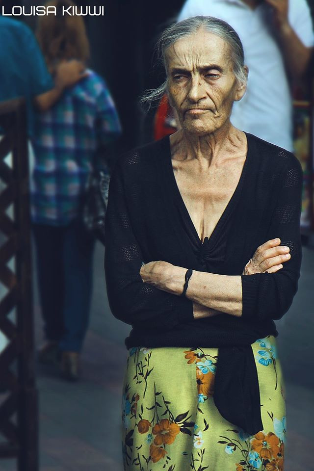 One of my earliest works...I think I took this in 2013-2014 when the transportation price hikes (150AMD) protests were going on. Still have my old 'nickname' haha  #armenia #grandma #oldlady #grumpy #people #photography #summer #FreeToEdit