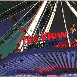 theview wheel ferryswheel effect artisticeffect