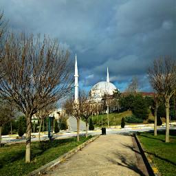 mosque nature travel happy turkey freetoedit