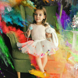 colorful baby cute freetoedit