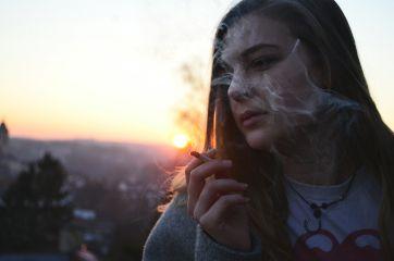 portrait sunset woman girl longhair freetoedit