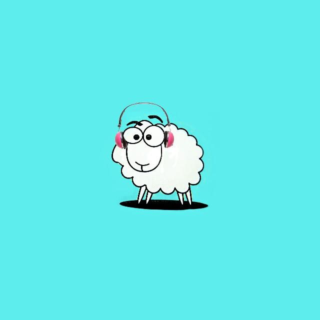#FreeToEdit  #myedit  #cute  #funny  #popart  #sheep