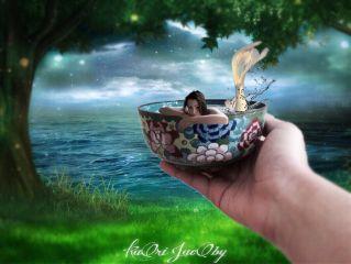 splash bath mermaid beautifulstory freetoedit