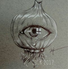 onion drawing inksketch inkdrawing dontcryoveryourself