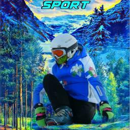 sport sportsedit sportsphotography color boy