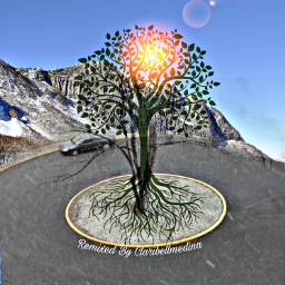 freetoedit remixed remixes treeoflife lensflareeffect