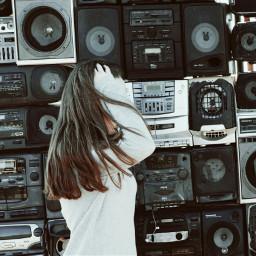 photography radio girl freetoedit dpcwomen