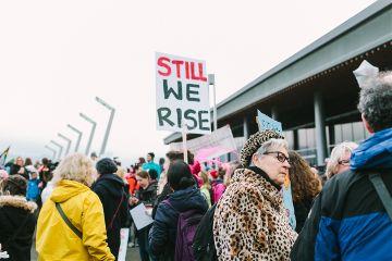 freetoedit feminist woman power rise