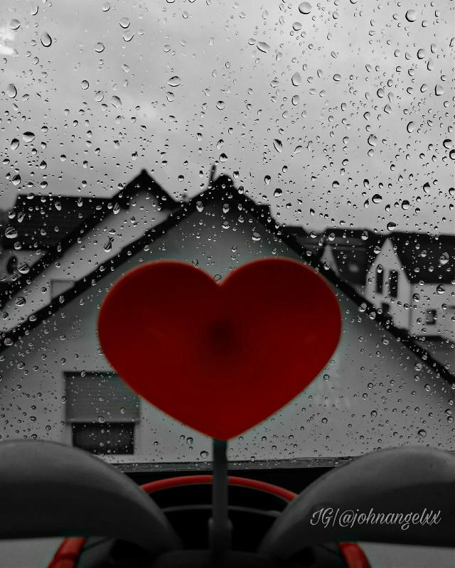 #rain #raindrops #heart #thebeautyandthebeast