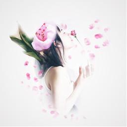 freetoedit art edited illustration flower