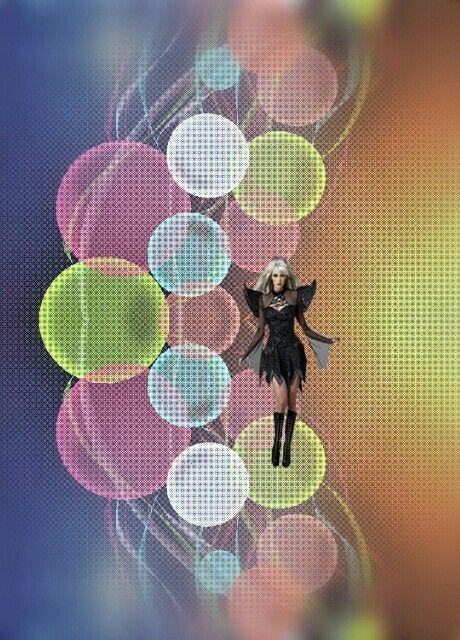 freetoedit woman colorful