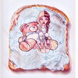 freetoedit remix edit toast bed