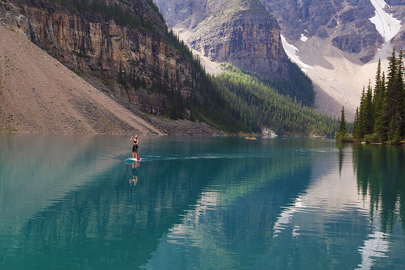 #FreeToEdit  #landscape  #canada  #banff park #reflection