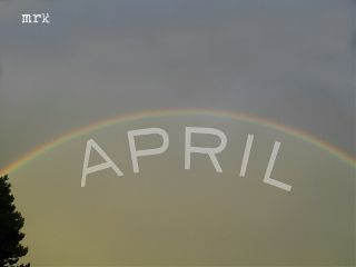 freetoedit april spring rainbow