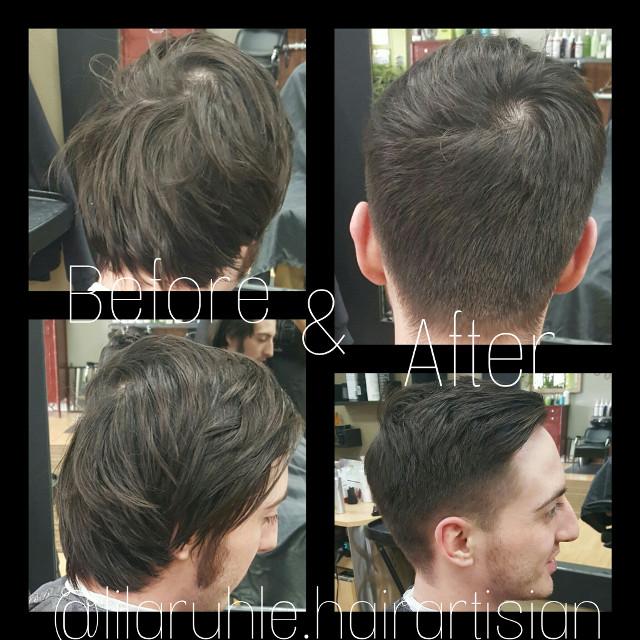 #before&after #transformation #idomenshairtoo #lilaruhle #hairartisian #sheargallery #anchorage #Alaska