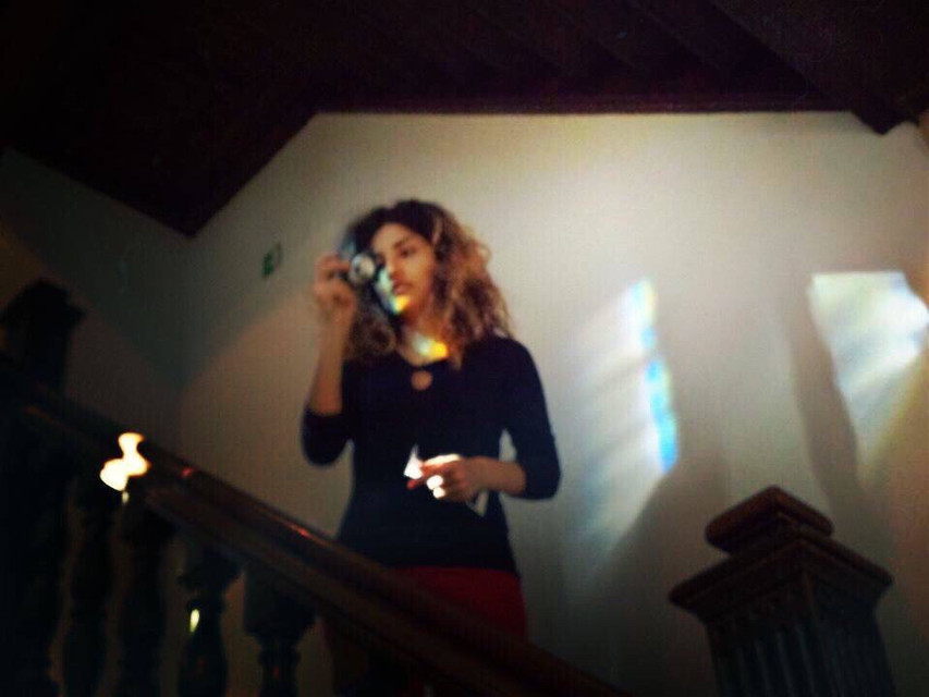 #FreeToEdit #byVanuhi #throwback #curly #sunlight #stairs #girl #museum #Antwerp #beautiful #photography #travel #picsart